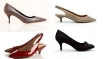 Kitten heels - 3 - 4,7 cm
