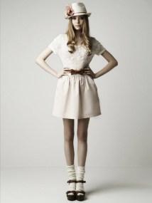 Zara Women, exemplu de soseta cu sandaleta