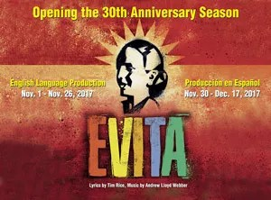 Actors' Playhouse production of Evita at Miracle Theatre