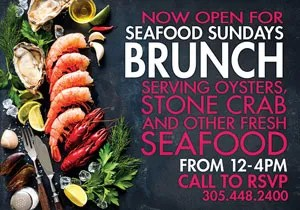 Seafood Sunday Brunch