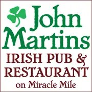John Martin's Irish Pub and Restaurant on Miracle Mile