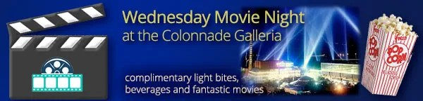 Wednesday Movie Night at the Galleria