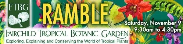 Ramble at Fairchild Garden