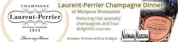 Neiman Marcus Mariposa Laurent-Perrier Champagne Dinner