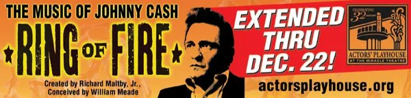 Ring Of Fire - Johnny Cash at Actors Playhouse