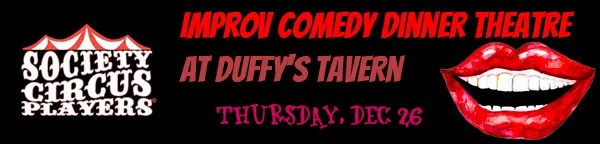 Comedy Dinner Theatre at Duffy's