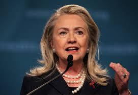 Hillary Clinton..