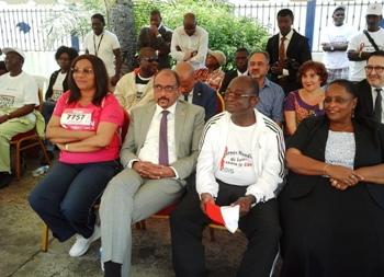 Les officiels durant la cérémonie de lancement @ Gabonactu.com