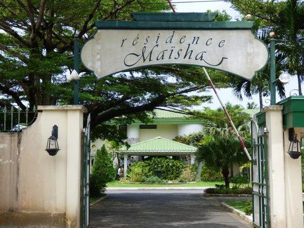 Une vue extérieure de la résidence @ Gabonactu.com