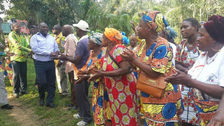 L'accueil était également chaleureux au village Oyane 1 @ Gabonactu.com