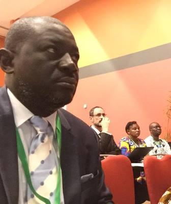 Nicaise Moulombi, président du ROSCEVAC craint pour la sécurité des migrants subsahariens dans le Maghreb @ DR