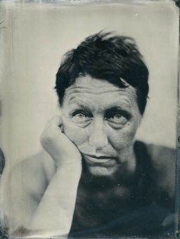 Actor (18x24cm ambrotype on clear glass)