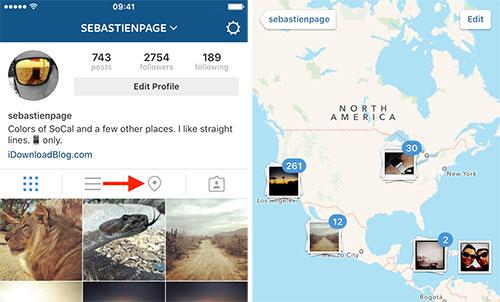 Géolocalisez vos photos