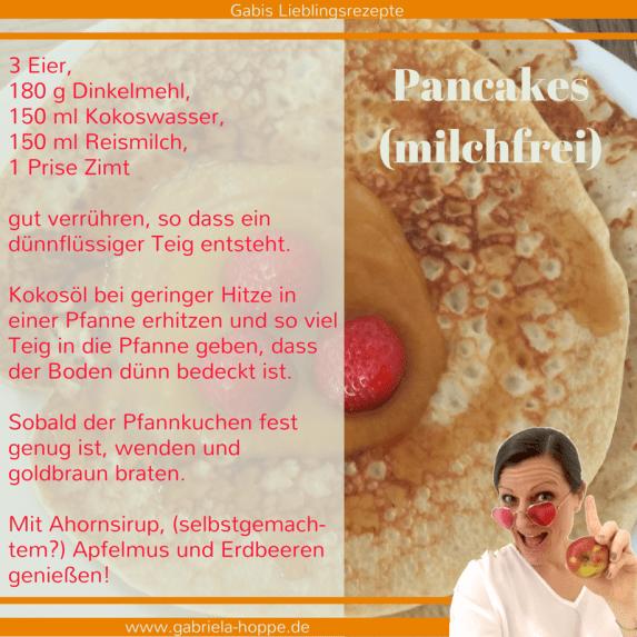 Pancakes milchfrei