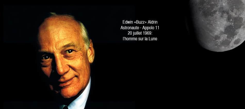 visite virtuelle Edwin Buzz Aldrin