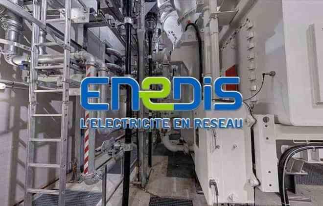 visite virtuelle du poste Châtillon d'Enedis
