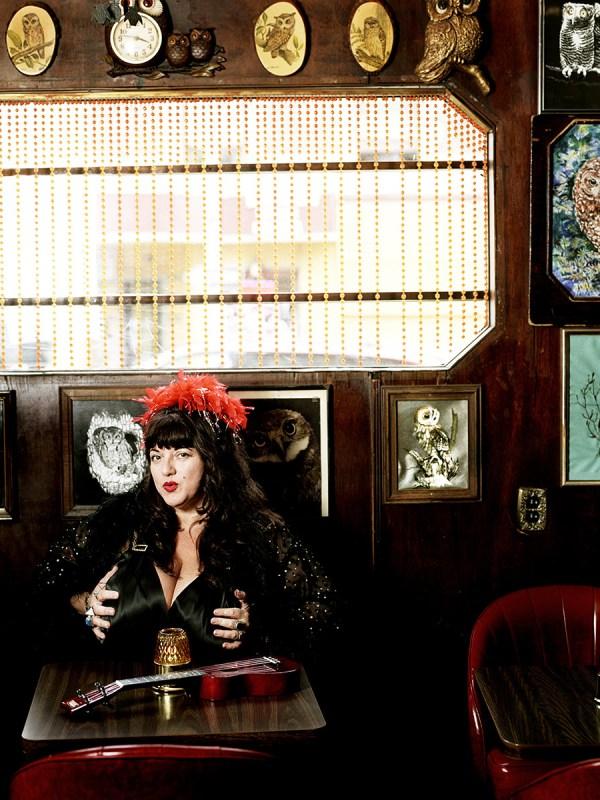 Blues singer, Candye Kane.