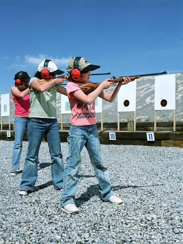 Shooting Range, Nevada for Forbes magazine.