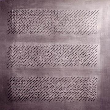 Gabridele De Vecchi, Superficie in vibrazione,1959
