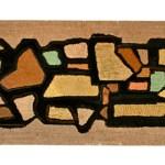 Mosaic Hooked Rug