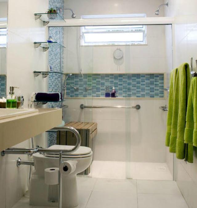 Banheiro adaptado