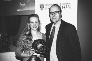 St Andrews University Sports Scholar of year 2015