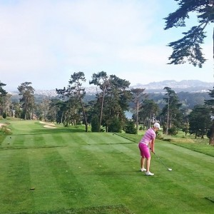 3rd hole Olympic Club, California 2015