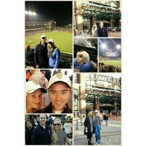 First ball game, San Francisco 2015