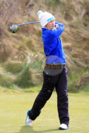 Gabrielle at the Irish Open Strokeplay Championship