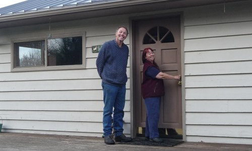 Congratulations Margaret & Jim on Your New Home!