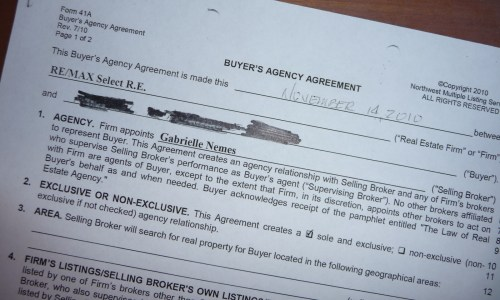 Working With Buyers — That Scary Buyer Agency Agreement