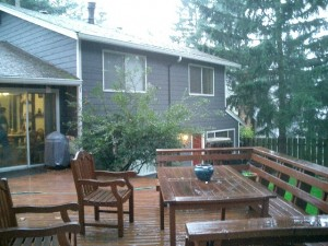 Staging Without Spending -- Deck before