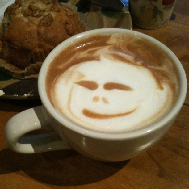 Awesome latte