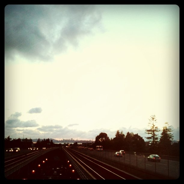 BART to the city for dinner & a lecture