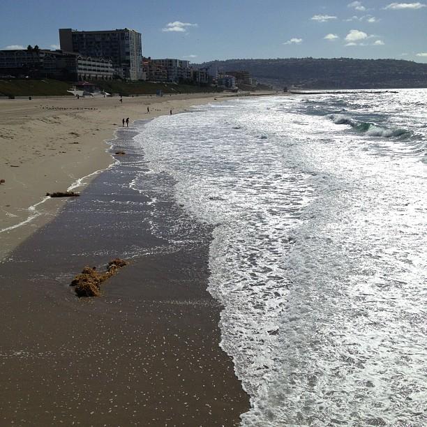 Beautiful ocean, very windy today