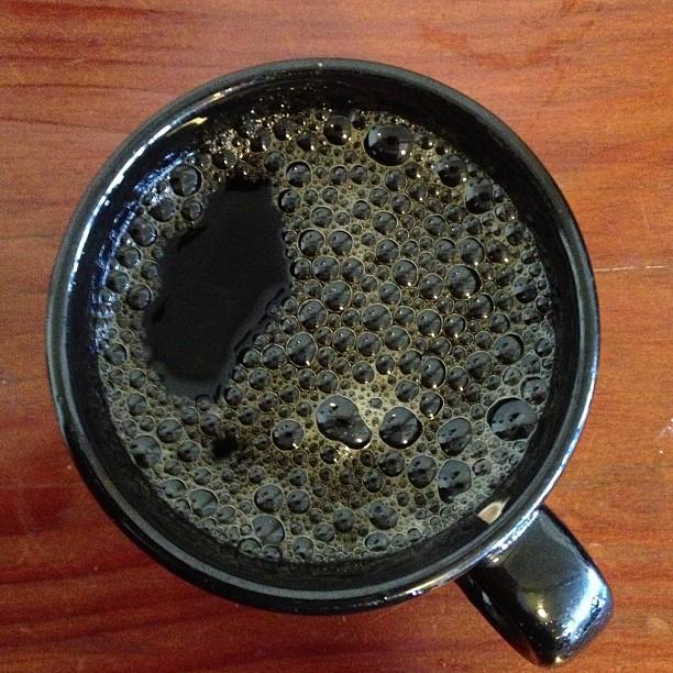 Bicycle Coffee dark roast at Arbor