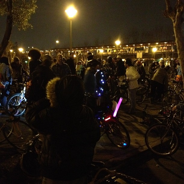 Bike party! :)