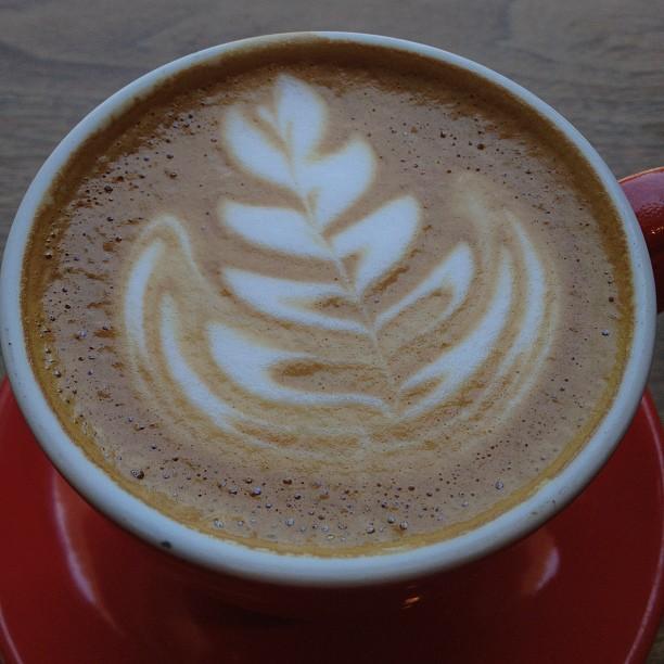 Delicious Ritual Coffee latte at Bica