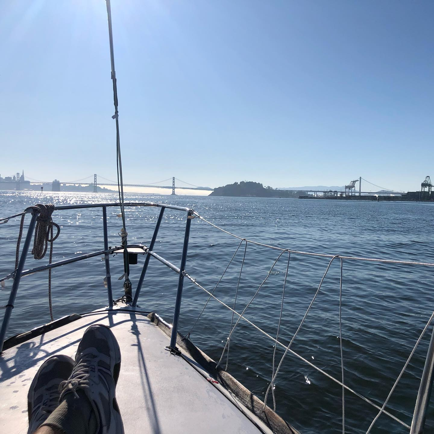 GREAT day on Stewball for the win in the Encinal Pt. Bonita regatta :)
