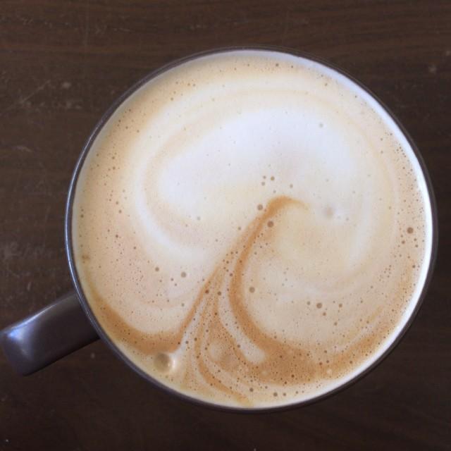Jack Skellington latte