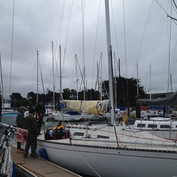 Jr. Waterhouse ocean race on Ahi today