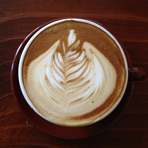 Last latte of 2012