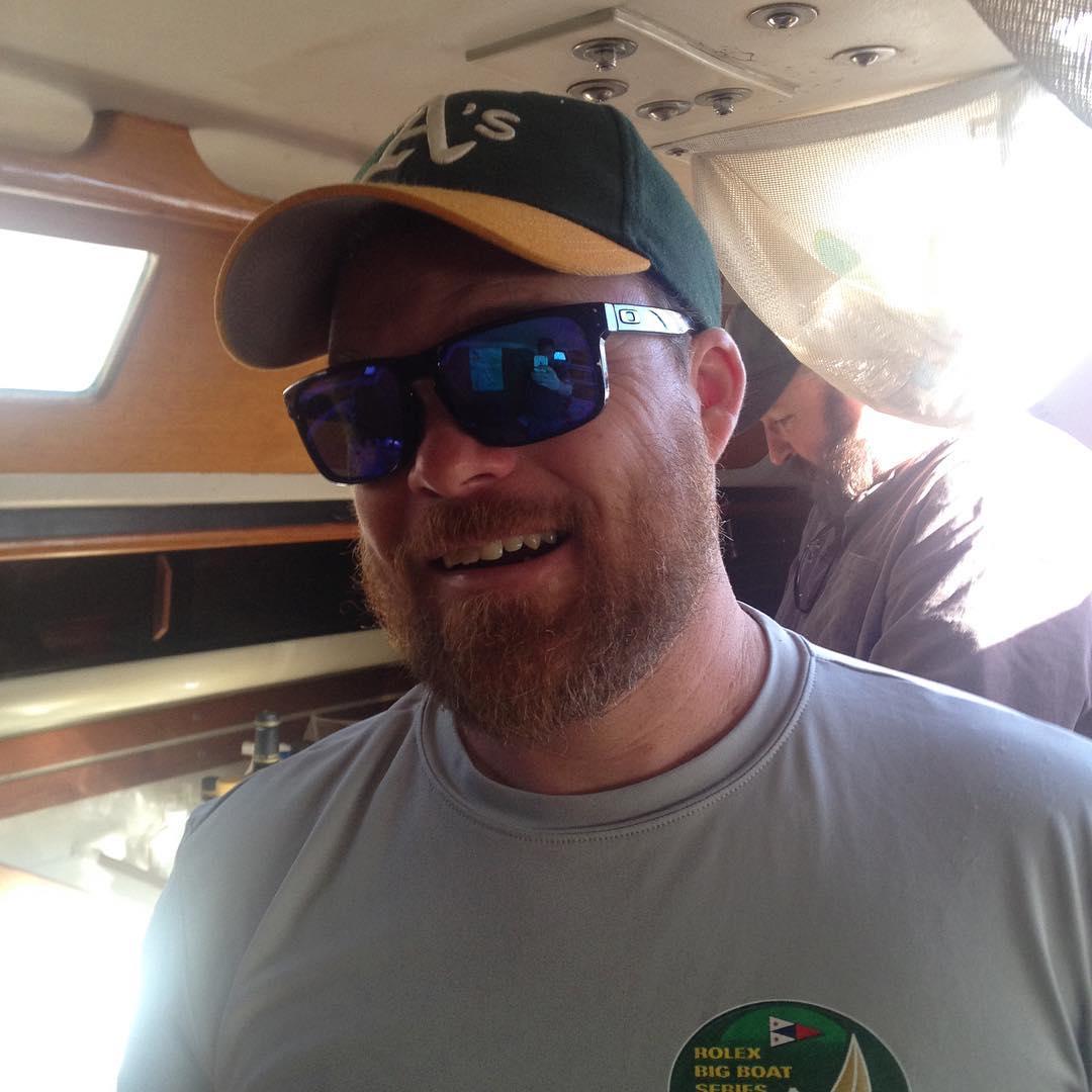 Nice haircut Jay! Stewball for Wheeler Regatta day 1