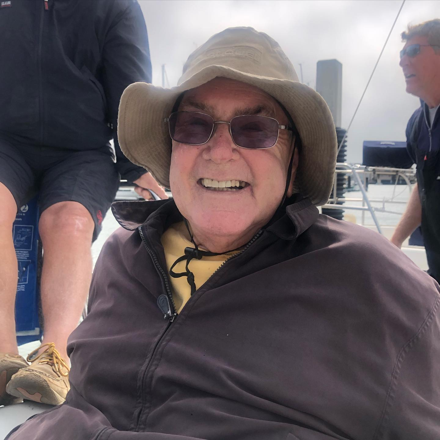 Sailing with the mighty Bob Harford on Express 37 Stewball for 2021 Encinal race to Pt. Bonita