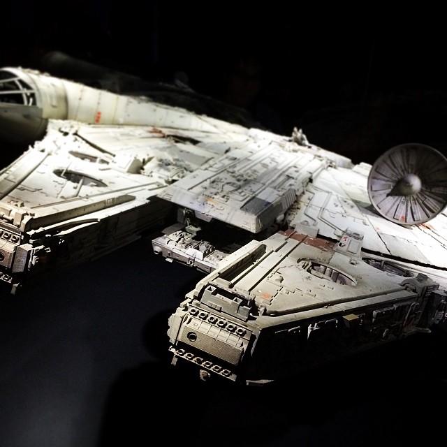 Star Wars exhibit is pretty sweet!