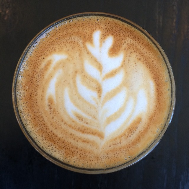 They call it a cortado here