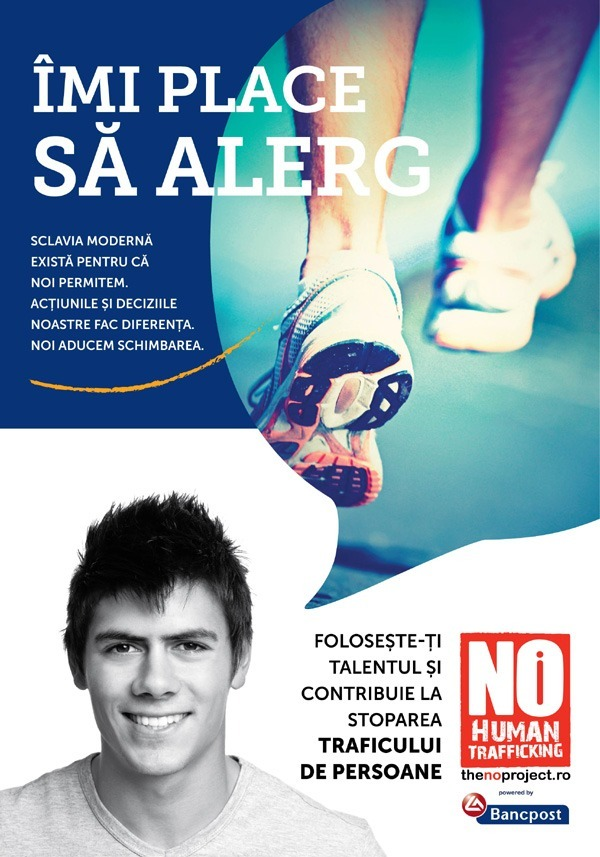 The NO Project RUN4FREEDOM - Imi place sa alerg