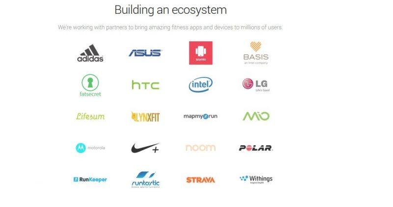 google fit partners