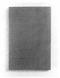 Gabriel Truan st 1 maquina de escribir / tela 30 x 20 cm 1990
