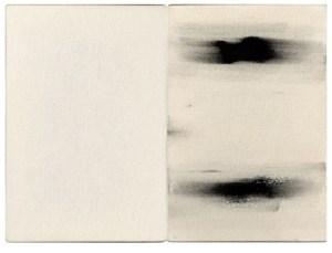 Gabriel Truan st 2 diptico tinta sobre tela (2x) 30 x 20 cm 2002